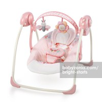 Bright Starts Ingenuity Portable Swing - Felicity Floral