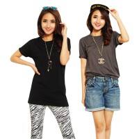 Women's Basic Tshirt Simple Elegan
