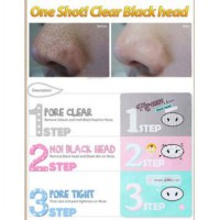 PIG NOSE CLEAR BLACK HEAD HOLIKA - HOLIKA HOLIKA PIG NOSE CLEAR BLACK