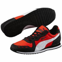PUMA RUNNING SHOES CABANA RACER FUN - 35839713 RED