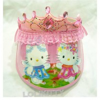 Bando Topi Hello Kitty Pink - BNHK 09