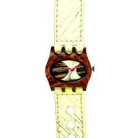 [poledit] Mistura Kamera Watch Hollister Strap Pui Wood Ebony Dial (T1)/12680534