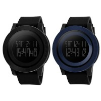 SKMEI Jam Tangan Pria Wanita Fashion Sport LED Digital Water Resistance | 2 Colors