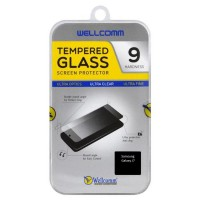 Wellcomm Tempered Glass Screen protector Samsung Galaxy J7 - Clear