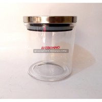 Akebonno Coffee & Tea Canister Jar 500 Air Lock Sealer