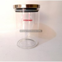 Akebonno Coffee & Tea Canister Jar 800 Air Lock Sealer