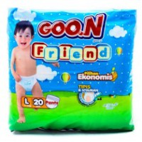 Goon Baby Diapers Pants L20
