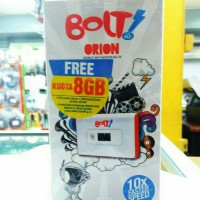 MODEM BOLT ORION WIFI + KARTU PERDANA 8GB / MIFI BOLT 4G LTE