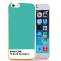 [globalbuy] 260-HOQE Caliente Pantone Plastica 5519 Transparent Hard Case Cover for iPhone/3249983