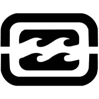 [poledit] Billabong Wave Square Sticker Decal White Sticker 6``width By 4.5`` Height (R1)/5835100