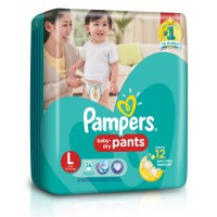 Pampers Popok Baby Dry Pants XL22