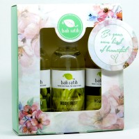 Bali Ratih Paket Body Mist 3pcs +FREE Gift Box Green