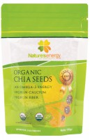 Nature's Energy Organic Chia Seed - an Omega-3 Energy 100gr