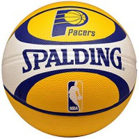 [poledit] Spalding NBA Indiana Pacers Team Colors And Logo Basketball/13509662