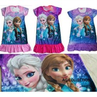 Dress Frozen / My Little Pony Import uk besar XL-X3L