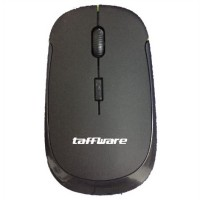 Taffware Wireless Optical Mouse 2.4G - Black