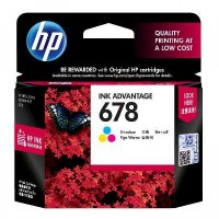 Tinta HP 678 Tri-color Ink Cartridge