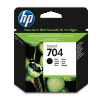 Tinta HP 704 Black Ink Cartridge