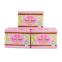 Pure Soap Jelly Original Thailand Skin for Whitening Lightening Aging