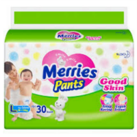 Pampers Merries ( M34, L30, XL26 )
