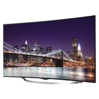 LG TV 55' OLED 55UC970T Layar Lengkung ULTRA HD 4k / Silver