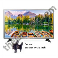 LG 32 Inch LED TV 32LH510D / 32LH510 / 32LH51 (Bonus Bracket TV) - HD Ready - DVBT2 - USB Movie
