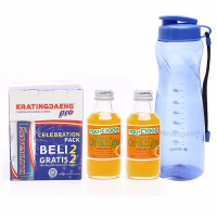 Kratingdaeng Pro Total Fitness Pack (Minuman Energi Pengganti Supplemen Makanan)*Free Sport Bottle