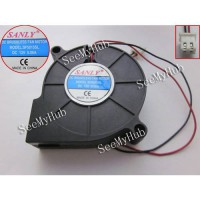 [globalbuy] Free Shipping For SANLY SF5015SL Server Blower Fan 2wire 50x50x15mm DC 12V 0.0/2624209