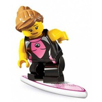 [macyskorea] LEGO Minifigures Series 4 Surfer Girl COLLECTIBLE Figure sandy beach surfing /14042158