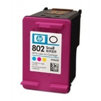 HP 802 SMALL TRI-COLOR / COLOR ORIGINAL INK CARTRIDGE