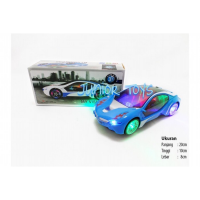 Mainan Mobil 3D BMW Car with Light and Sound