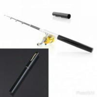Alat Pancing Bentuk Pena / Mini Portable Extreme Pen Fishing Rod Length 1M