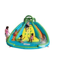 [poledit] Little Tikes Rocky Mountain River Race Infatable Slide Bouncer/13499874