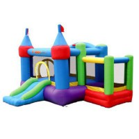 [poledit] Bounceland Inflatable Dream Castle with Ball Pit Bounce House Bouncer/13498403