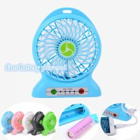 Kipas Angin Portable + Powerbank 2 In 1 / Portable Lithium Battery Fan