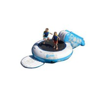 [poledit] Rave O-Zone Plus Water Bouncer (White/Blue)/13497175