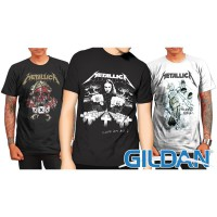 NEW DESIGN !! KAOS METALLICA SERIES, GILDAN TSHIRT