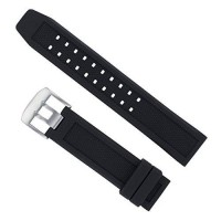 [poledit] Watch Experts Generic Rubber Watch Band for Luminox Evo Colormark Series - 23mm/9649641