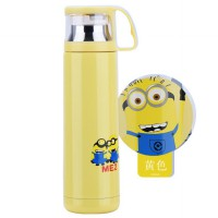 [HOT SALE] CHARACTER stainless steel Tumbler with cup lid 500ml