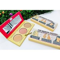 Blush On The Balm The Manizer Sisters The Balm Luminizers 3 in 1