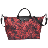 AUTHENTIC LONGCHAMP Le Pliage Fantaisie Line Camouflage Medium
