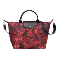 AUTHENTIC LONGCHAMP Le Pliage Fantaisie Line Camouflage Small
