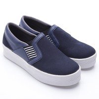 Dr.Kevin Canvas Shoes 43153 Navy
