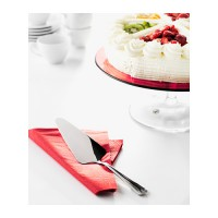 IKEA (R) - Dragon Cake Slice, Pemotong Kue (25cm) - Stainless Steel, Elegant Dining Experience Party