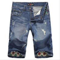 [globalbuy] Summer style high quality original famous brand short men jeans Italy fashion /4137773