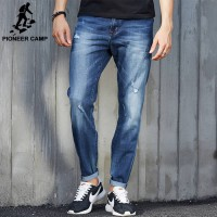 [globalbuy] Pioneer Camp 2016 New Hole Jeans Men Fashion brand clothing Casual Jeans Male /4137749