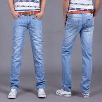 [globalbuy] 2016 New fashion Utr Thin Retail Mens spring and summer style jeans brand deni/4137747