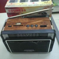 Radio Souness Sn-208 Fm/am/sw 3 Band With Usb/sd Mp3 Player