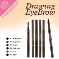 [E*House] DRAWING EYEBROW  (Pensil + Sikat/Kuas)