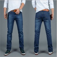 [globalbuy] The New 2016 Men Jeans Big Yards Straight Men Leisure Trousers The Blue Man Je/4137220